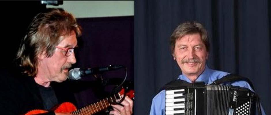 Optreden Joop Boxstart en Theo Scholten